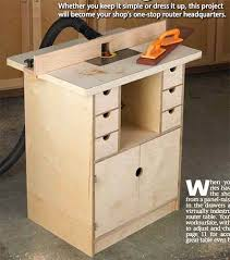 Diy Router Table Plans Free by 39 Free Diy Router Table Plans U0026 Ideas That You Can Easily Build