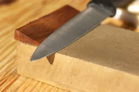 how to sharpen a knife in three simple steps