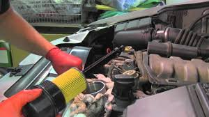 engine oil change mercedes ml320 youtube