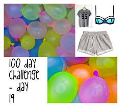 Challenge Water Balloon 100 Day Challenge Water Balloon Fight Water Balloons Water