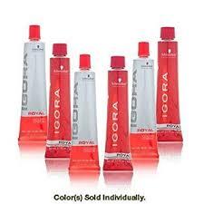 igora royal hair color color to develiper ratio amazon com schwarzkopf professional igora royal hair color 5 0