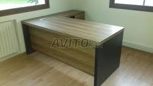bureau de travail vendre bureau de travail en bois avec retour à vendre à dans meubles et