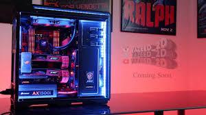 epic gaming pc setup 2017 coming soon youtube