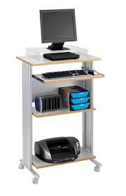 Computer Stands For Desks Computer Carts Computer Stands Stand Up Mobile Workstation