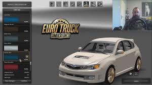subaru impreza truck subaru impreza modirani euro truck simulator 2 ep18 youtube