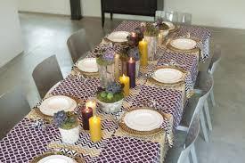 my thanksgiving tabletop decor ikat antlers maegan