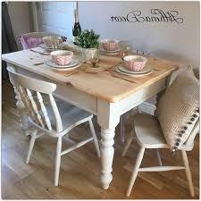 white shabby chic dining set dark brown luxury teak wood table