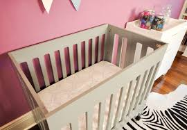 Mini Cribs by Bedroom Charming Convertible 3 In One Babyletto Mini Crib