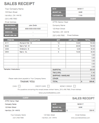13 free business receipt templates smartsheet