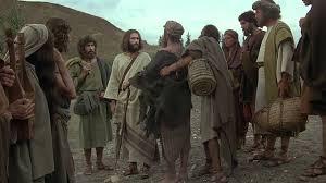 jesus english healing of the blind beggar bartimaeus youtube