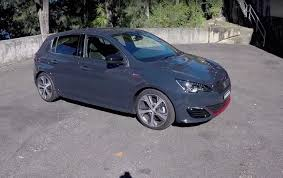 peugeot 308 gti blue video 2016 peugeot 308 gti review first impressions pov