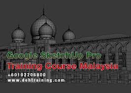 google sketchup pro course malaysia