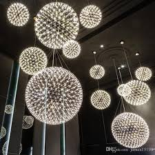 Sphere Ceiling Light Led Rainmond Modern Pendant L Firework Chandelier Ceiling