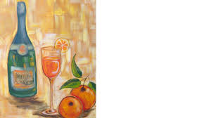 easy acrylic painting ideas wine and glass class the art sherpa