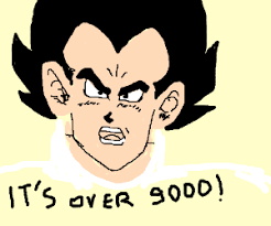 it s over 9000 drawing by sandroid