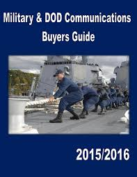 military and dod communications buyers guide by federal buyers