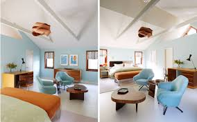 1960 Danish Modern Furniture by Amy Lau Creates An East Hampton Retreat Using Mid Century Modern