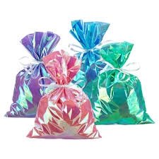 iridescent tissue paper large iridescent gift sacks the container store