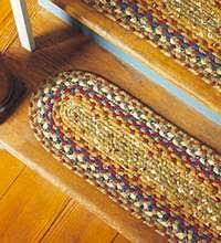Stairs Rugs Consider To Try Braided Rug Stair Treads Stair Treads Stair