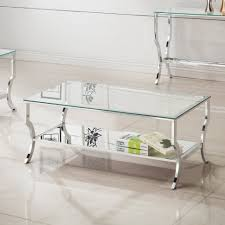 coffee table amazing small glass side table metal glass coffee