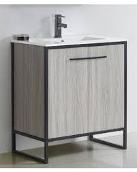 30 Inch Bathroom Vanity Cabinet by Bargains On Fine Fixtures Vdara 30 Inch Grey Taupe Brown