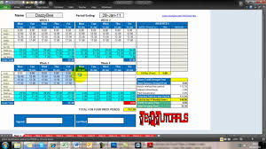 Excel Timesheet Template With Formulas Microsoft Excel Projects Tutorials Gantt Chart Timesheet