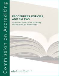 procedures policies and bylaws the association of theological