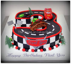 lightning mcqueen car cake by the house of cakes dubai fantastic
