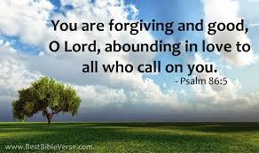 abounding love call psalm 86 bible verse