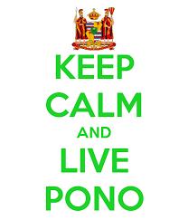 Hawaii travelation images Keep calm and live pono google search home sweet hawaii jpg