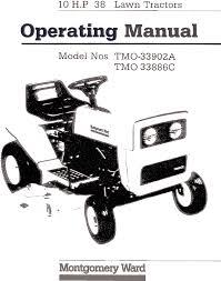 montgomery ward lawn mower tmo 33902a user guide manualsonline com