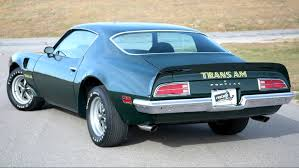 less than 50 000 miles 1973 trans am