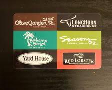 longhorn gift cards gift card olive garden longhorn bahama lobster darden
