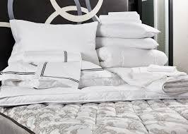 black embroidered bed u0026 bedding set kimpton style