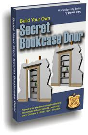 secret hidden bookcase door safe room or storage entrance