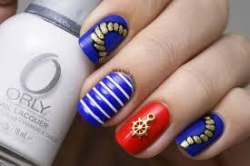 sea marine boat nail art nail art by let u0027s nail moscow