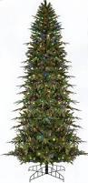 6 u0027 pre lit slim palisade artificial christmas tree multi led