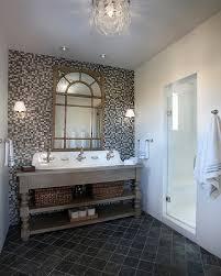 slate bathroom tile bathroom traditional with beige black diamond