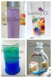 how to make a perfect sensory bottle preschool inspirations