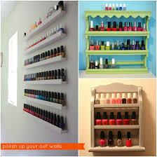 best wall mount nail polish rack photos 2017 u2013 blue maize