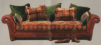 Loose Covers For Leather Sofas Mixed Leather And Fabric Sofa Google Search Thatch Pinterest