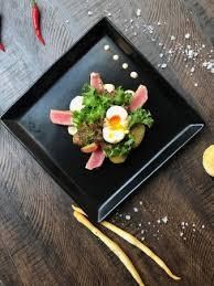 restaurant cuisine nicoise nicoise salad with vitello tonnato sauce picture of