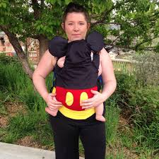 Infant Popcorn Halloween Costume Ergo Baby Carrier Covers Attached Pads Littlehooksboutique