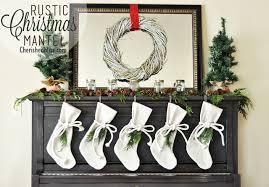 rustic christmas rustic christmas mantel decor cherished bliss
