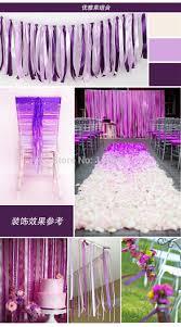 Wedding Backdrop Banner 1m 2m Wedding Party Ribbon Curtain Backdrop Ribbon Banner Booth