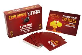 exploding kittens a card about kittens and