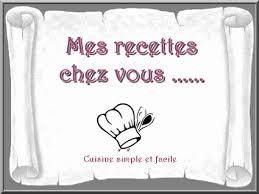 mes recettes de cuisine mes recettes chez vous n 02 cuisine simple et facile