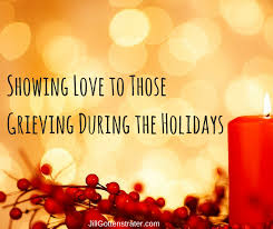 grief during the holidays gottenstrater