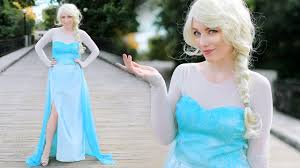 frozen costume diy elsa frozen costume child