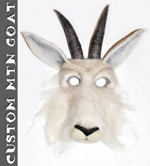 Goat Halloween Costume Soulfibre Studio Leafman Mask Mountain Goat Mask Festivals